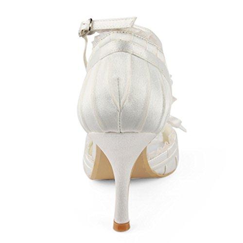 Minitoo , Escarpins pour femme - beige - Ivory-8cm Heel, 38