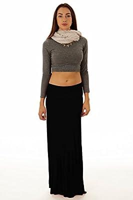 Dinamit Women's Rayon Spandex Maxi Skirt