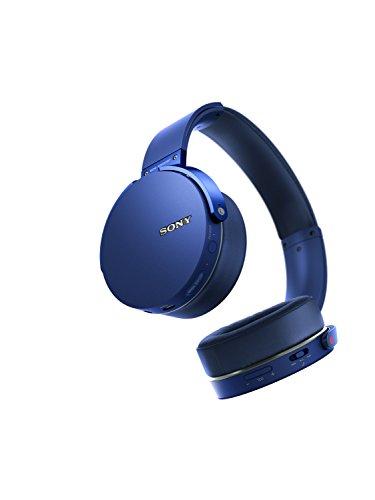Sony MDRXB950BT/L Extra Bass Bluetooth Headphones, Blue