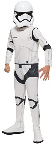 [Star Wars: The Force Awakens Child's Stormtrooper Costume, Large] (Halloween Costumes For The Family)