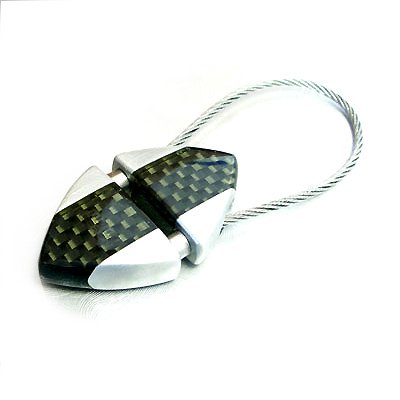 MOMO Design Real Carbon Fiber Key Chain (Carbon Fiber Keychain compare prices)