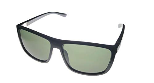 Kenneth Cole Reaction Mens Square Black Plastic Sunglass KC1317 1N