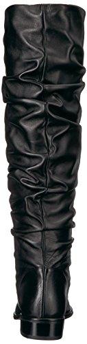 Stuart Weitzman Women's Flatscru Fashion Boot Black Nappa KKMDLg