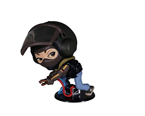 """Ubisoft Rainbow Six Siege Collection Chibi 4"""" Figurine Figure and Game Code Not Machine Specific (Bandit)"""
