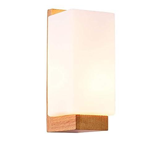 Gorich Lámpara De Pared Sencilla Y Moderna De Madera Y
