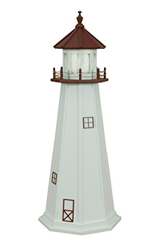 Poly Marblehead Lighthouse Replica 5' ()