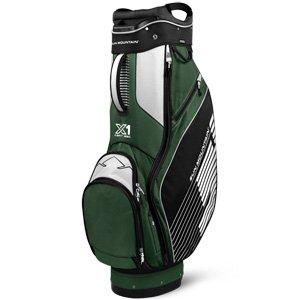 Sun Mountain X-1 Cart Golf Bag, Black/Green/White