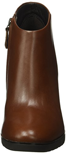 Geox D Raphal B, Botines para Mujer Braun (BROWNC0013)