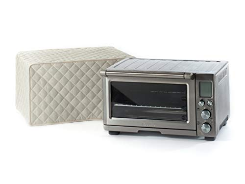 Covermates - Toaster Oven Cover - 20W x 15D x 11H - Diamond Collection - 2 YR Warranty - Year Around Protection - Cream (Toaster Cover Oven)
