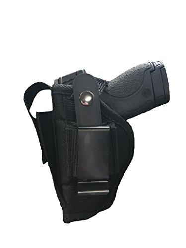 Nylon Belt or Clip on Gun Holster for Kel-Tec PF-9, P-11, P-40 with Laser (Holster For Kel Tec Pf9 With Laser)