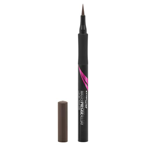 Maybelline Eyestudio Master Precise All Day Ink Pen Liquid Eyeliner, Forest Brown, 0.034 fl. oz.