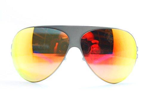 Mykita Sunglasses Frame New Patented Germany Round Mod.FRANZ Mattegrey 64 - Sunglass Mykita