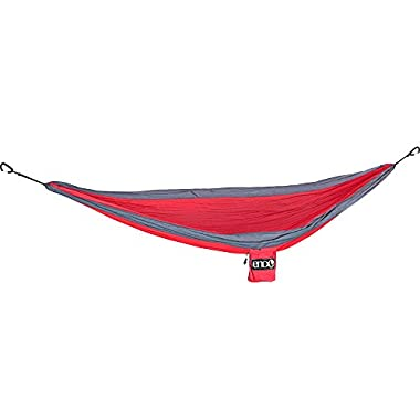 Eagles Nest Outfitters - SingleNest Hammock, Red/Charcoal (FFP)