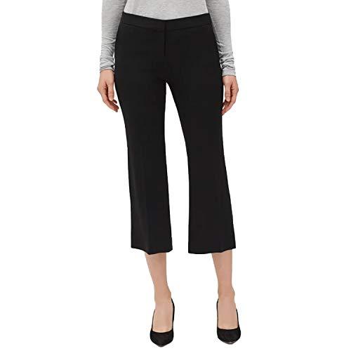 Lafayette 148 Womens Manhattan Flare Pant Black 4 ()