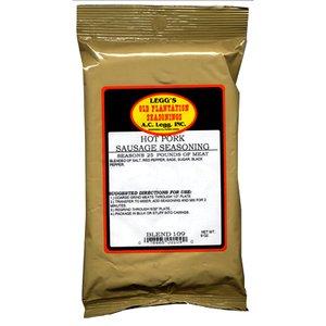 - A.C. Legg INC Hot Pork Sausage Seasoning