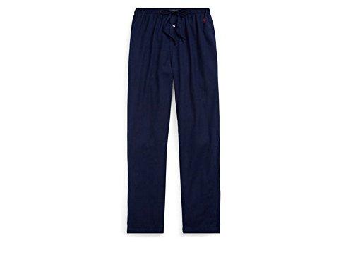 RALPH LAUREN Polo Men's Flannel Pajama Pant Size Large Navy Size L