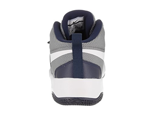 Midnight GS Bambino White 8 Navy Basket Nike Hustle Cool Greyy da D Team Scarpe Rqn1Iz