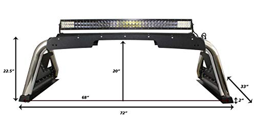 Go Rhino! Textured Black 911000T Sport Bar 2.0 for Chevrolet Silverado 1500