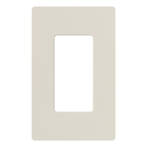 Lutron CW-1-LA  Claro Single-gang, Light Almond 1 Pack - 1 Gang Almond