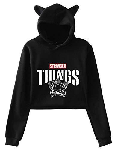 Kinder Lässiges Langarm Pullover Geeignet für Fernseher Fans HUASON Riverdale Mädchen Hoodie mit Southside Serpents Logo Sweatshirts & Kapuzenpullover