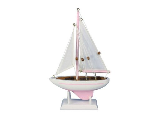 Hampton Nautical  Pacific Sailer Pink 9