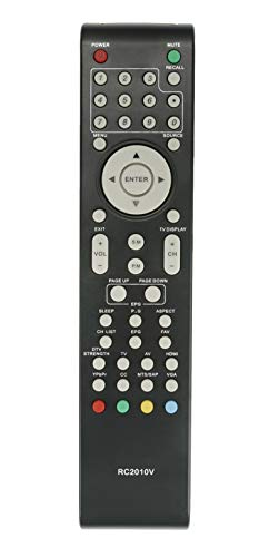 New RC2010V Remote Control fit for VIORE TV LC37VF56 LC32VF5