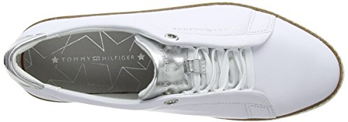 Tommy Basses Leather Sneakers Hilfiger Sneaker Femme City ZWpZqr