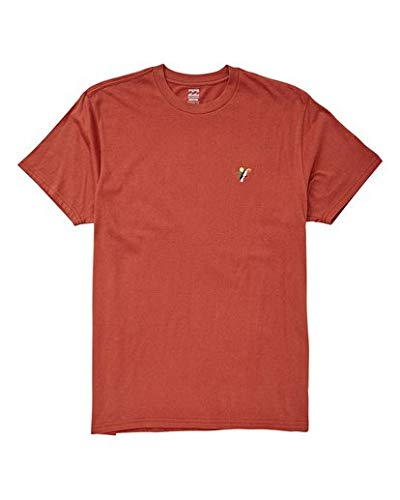 (Billabong Men's Graphic T-Shirts Shirt, Fauna Terracotta, 2XL)