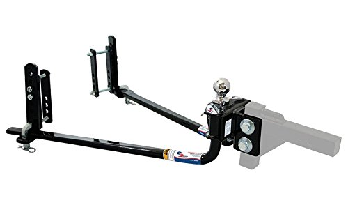 Fastway e2 2-Point Sway Control Round Bar Hitch, 94-00-1033, 10,000 Lbs Trailer Weight Rating, 1,000 Lbs Tongue Weight Rating, Weight Distribution Kit DOES NOT Include Hitch Shank Or Ball by Fastway