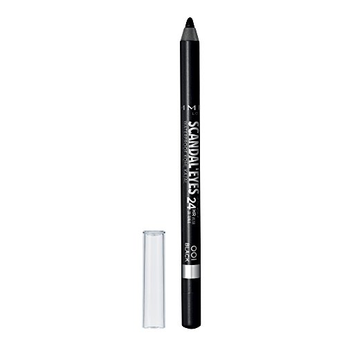 Rimmel Scandaleyes Waterproof Kohl Kajal Liner, Black, 0.04 Fluid Ounce