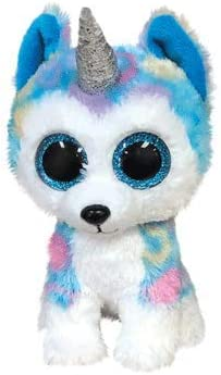 Amazon.com: Ty- Beanie Boos-Helena The Husky TY36322 ...