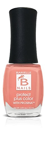 Peach Nail Strengthener (Barielle Brs Prosina Peach Popsicle, A Creamy Coral Peach)