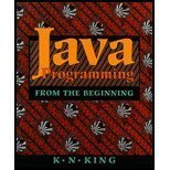 Java Programming, King, K. N., 0393948145