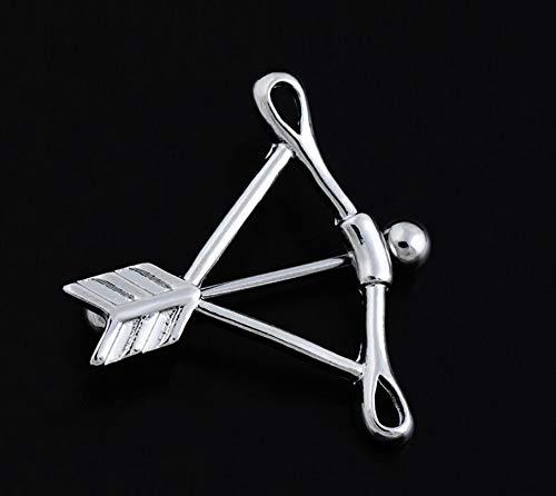 TM Rings Surgical Steel Vintage Spike Shape Body Piercing Nipple Ring Shield Barbell Bar Deole