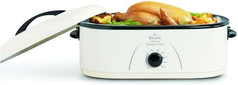 Rival Roaster Oven, 18-Quart, White RO180