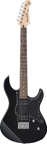 Yamaha Pacifica PAC120H BL Solid-Body Electric Guitar, Black