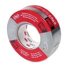 3M 6969 Polyethylene Coated Cloth Heavy-Duty Duct Tape, 200