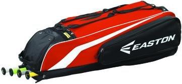 Easton Fielders Glove - Easton Stealth Core Wheeled Bag (Orange)
