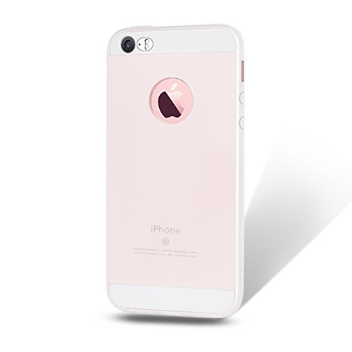 6x iPhone 5S Hülle Leton TPU Silikon Handyhüllen für Apple iPhone 5S 5 SE Handy Schutzhülle Handytasche Schutz Cover Case Schale Weich Flexible Ultra Dünn Matt Kratzfeste Tasche Verschiedene Farben