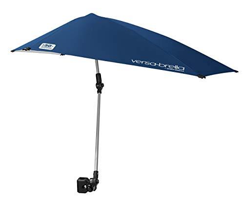 Sport-Brella Versa-Brella 4-Way Swiveling Sun Umbrella (Midnight Blue) (Renewed)