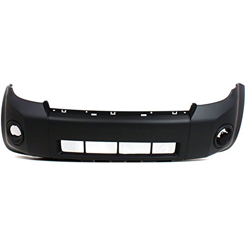 Front BUMPER COVER Primed for 2008-2012 Ford Escape ()
