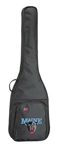 NCAA Collegiate Bass Guitar Bag - University of Maine Black Bears