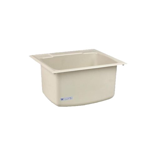 Mustee 10CBT Utility Sink, 22-Inch x 25-Inch, Biscuit by Mustee