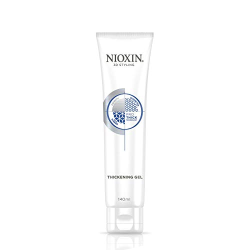 Nioxin Thickening Gel with Pro-Thick for Unisex, 5.13 oz
