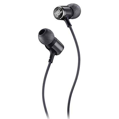 JBL Live 100 in-Ear Headphones with Remote - Black (Best Headphones For 100)