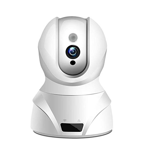 Wireless IP Camera, HD Camera, with 350 ° / 100 ° Swivel, Home and Baby Monitor with Motion Detection, Two Way Audio, Night Vision, Supports Remote Alarm and Mobile App Control
