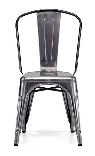 Strange Amazon Com Metal Dining Chair With Felt Foot Pads Creativecarmelina Interior Chair Design Creativecarmelinacom