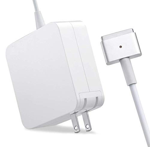 TKKOK Charger 45W Compatible with Mac Book Air Mag Safe 2 Magnetic T-Tip Power Adapter, Compatible with Mac Book Air 11