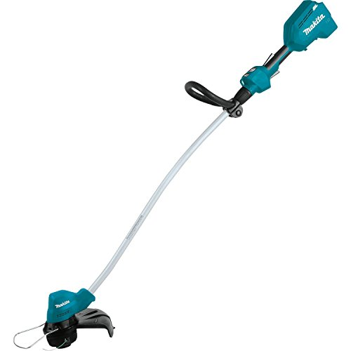 (Makita XRU13Z Brushless Cordless Curved Shaft String Trimmer, Teal)