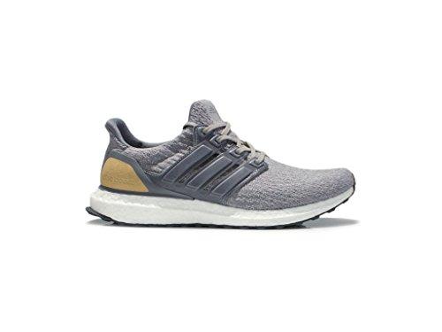 adidas Originals Men's Ultraboost Ltd Running Shoe, Mid Grey/Mid Grey/Linen Khaki, 10.5 M US
